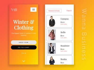 Winter & Clothing | Application