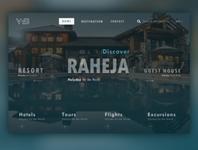 Travelling Website Design