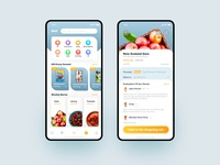 Circle Of Dining App Mall interface design