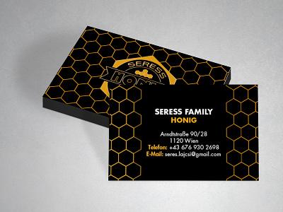 Seress businesscard logo branding design business card