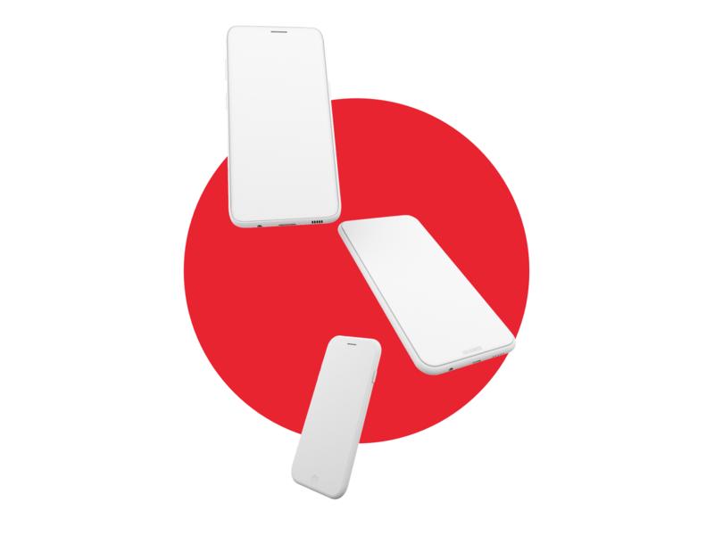 Phone 3D modeling configurator ux design ui 3d animation 3dmodeling 3d art 3dmodel 3d interaction