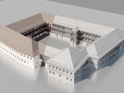 Hanul lui Manuc motion graphics ux ui 3dmodeling 3d art 3dmodel design 3d interaction