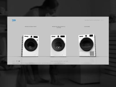 Beko ux c4d 3dmodeling 3dmodel 3d animation 3d design interaction ui