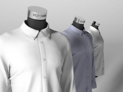 Fashion 3D showcase character ux ui c4d 3d art design configurator interaction 3dmodeling 3dmodel 3d