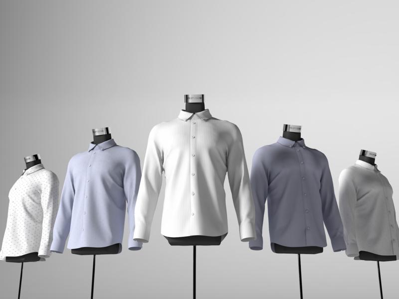 Fashion 3D Showcase 3dmodeling c4d ux ui 3d art design interaction 3dmodel 3d