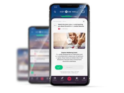 Hbw goals health app health product ux illustration design interaction ui