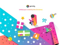 Unfold your creativity this Christmas