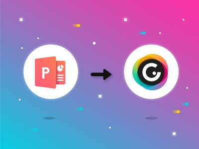 From PowerPoint to Genially… and beyond! art direction app typography ux logo genius ui icon artdirection genially digital website web gradient color vector illustration design branding