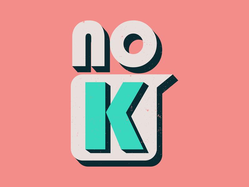 No K shots ux ui type follow hello branding graphic dribbble illustration invite vector flat graphic design illustrator photoshop typography logo design art