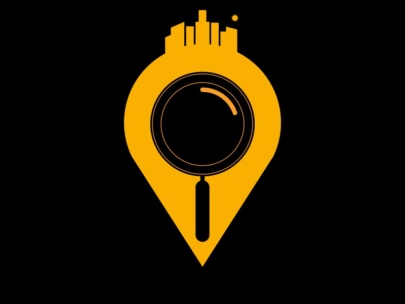 Location dribbble icon follow branding hello invite logo web app ux ui graphic vector illustration graphic design flat photoshop illustrator design art