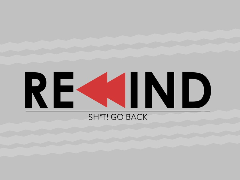 Rewind web ui ux typography logo website invite follow branding dribbble graphic flat shots vector illustration graphic design photoshop illustrator design art