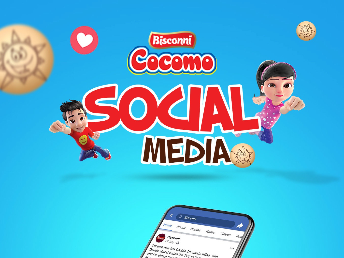 Bisconni Cocomo Social Media By Moiz Memon On Dribbble