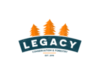 Legacy: Conservation & Forestry Logo