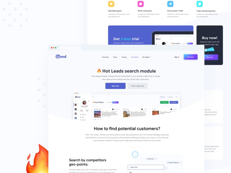 Product 🔥landing page illustrator landing page minimal ux website flat design landing web ui illustration