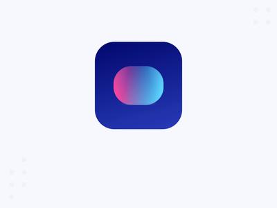 Icon for Social Bridge app 🚀 animation icon vector branding logo application app minimal flat design