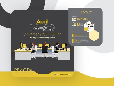 REACT Sols corporate infographics illustration infographic elements infographic design