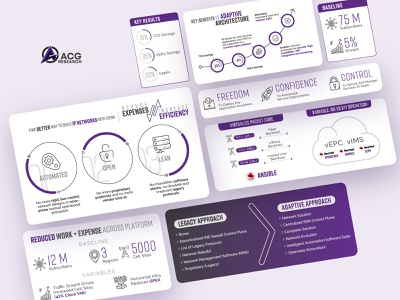 ACG Research iot networking iconography infographic design corporate infographics