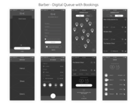 Barber - Digital Queue with Booking