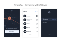 Fitness App   Connecting with IoT Device