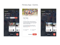 Fitness App -  Events