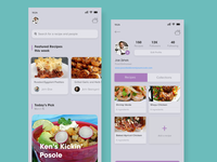Daily UI Recipe App