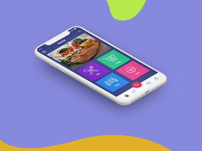 Discount App UI design concept