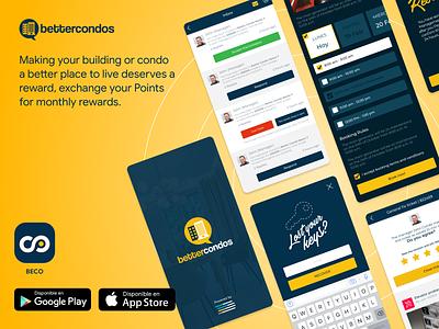 BECO APP: BetterCondos ux product design app ui