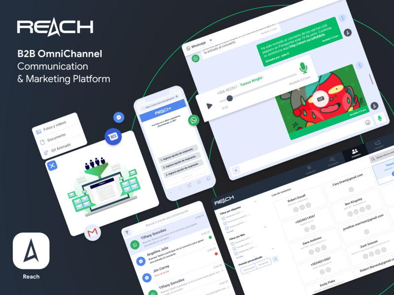 Reach WebApp