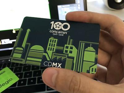 AR CDMX Metro Card augmented reality cdmx