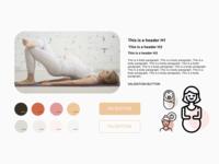 Style Tile  - app for pregnant women