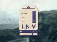 Inverness Luggage Tag