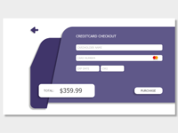 Daily UI challenge #002 Creditcard checkout