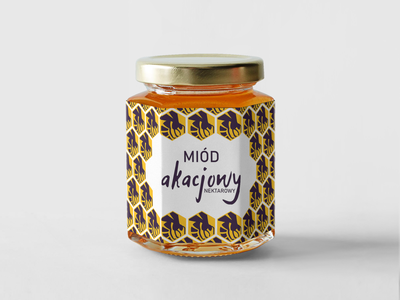 Honey jar label design design label design labeldesign honey jar mockup label