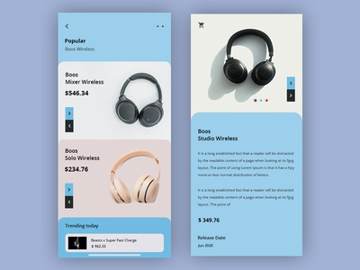 Headphone Store App