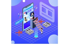 isometric-infographic-with-charts-people