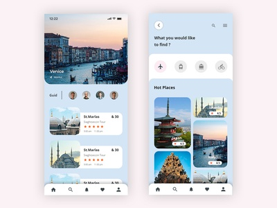 Travel app uxdesign ux userinterface ui travel app product picture interface interaction inspiration design clean app animation