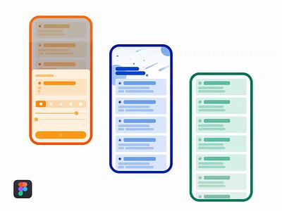 🤯  Complex animation in Figma ● Freebie Animation file freebie figmadesign figma vector article app ux ui mobile minimalist minimal interaction illustration flat design animation
