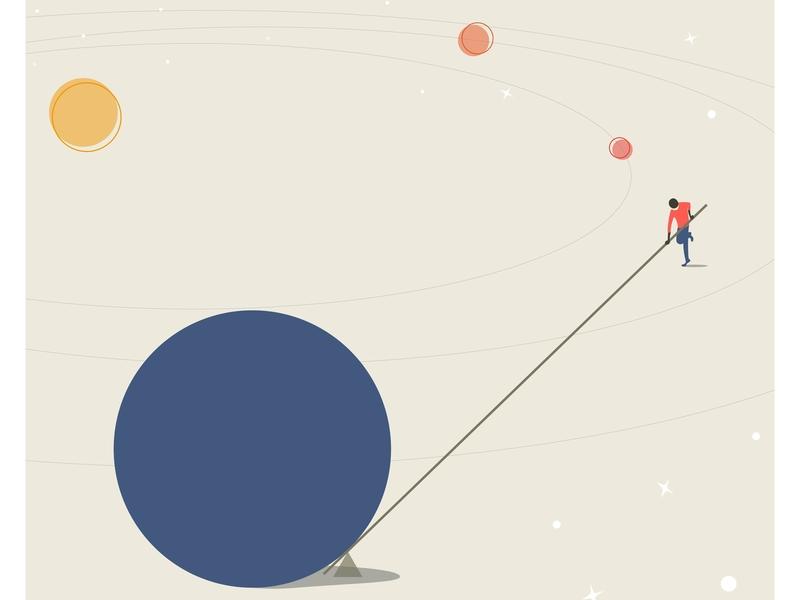 I'll Move the Earth illustrator art vector art illustrator vector design illustration