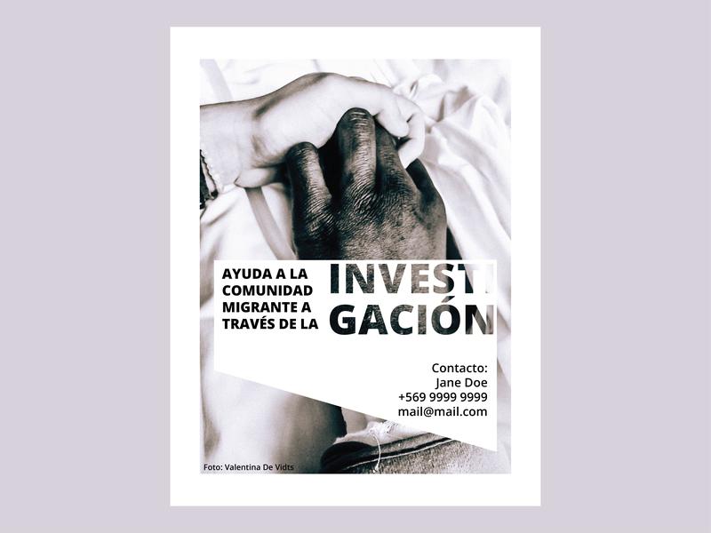 Investigation Flyer photography flyer design illustrator