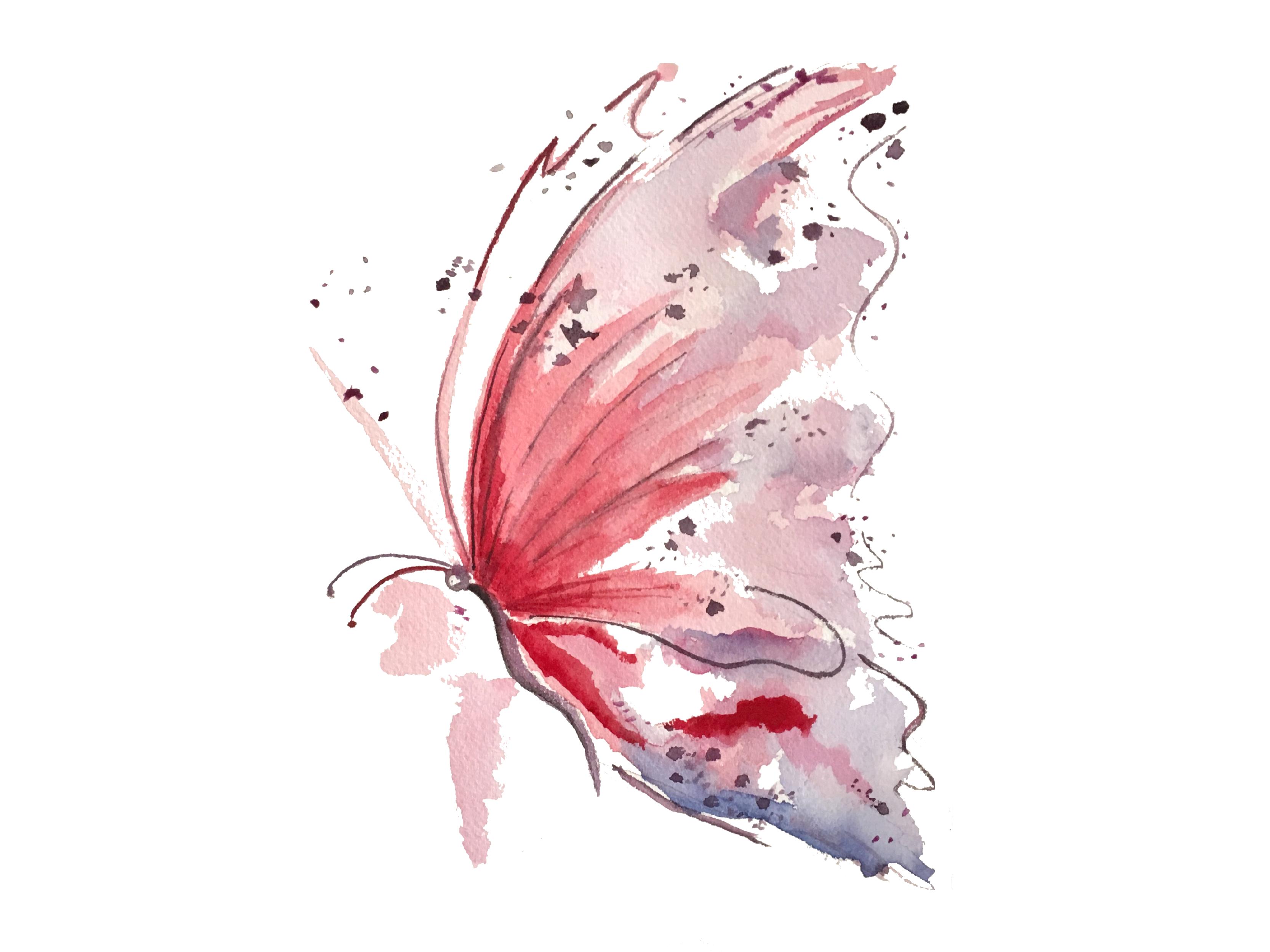 Butterfly print dribbble 01