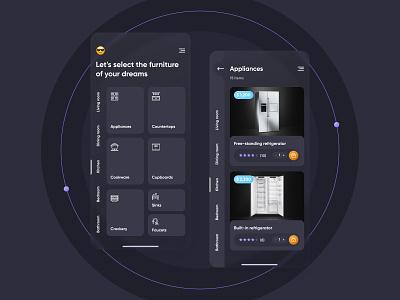 Furniture App furniture mobile app mobile app ux ui design