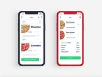 Pizza order design