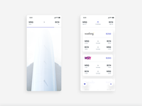 Plane booking app • search and tickets