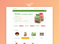 E-shop Design | Green-Food