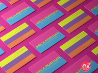 Color Block Business Cards