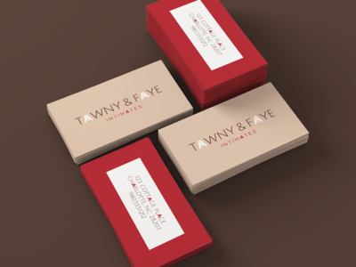 Tawny Faye Business Cards