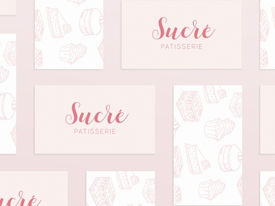 Sucre Patisserie Business Cards
