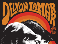 Tour poster and t-shirt design for the Delvón Lamarr Organ Trio