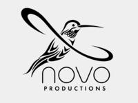 Hummingbird logo for Novo Productions