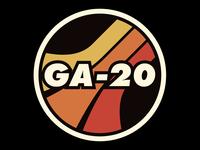 GA-20 band logo